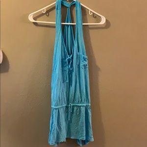 Elan Ocean Blue Swimsuit Coverup